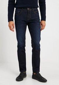 camel active - Slim fit jeans - dark blue denim - 0