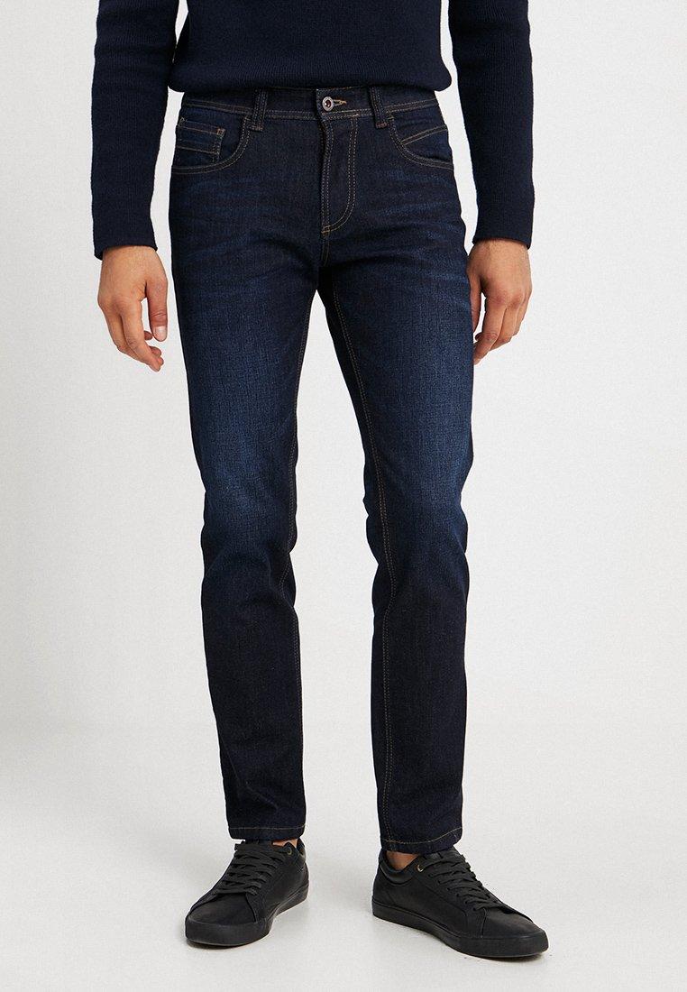 camel active - Slim fit jeans - dark blue denim