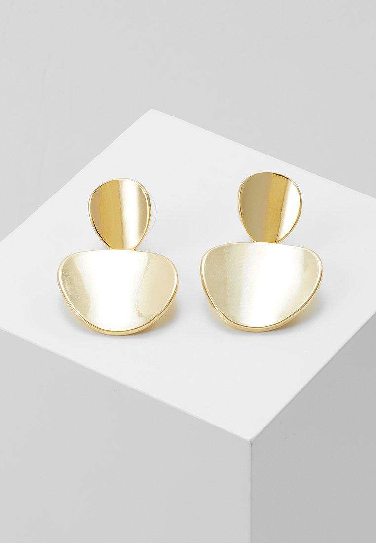 SNÖ of Sweden - AVERY PENDANT EAR  - Náušnice - gold-coloured