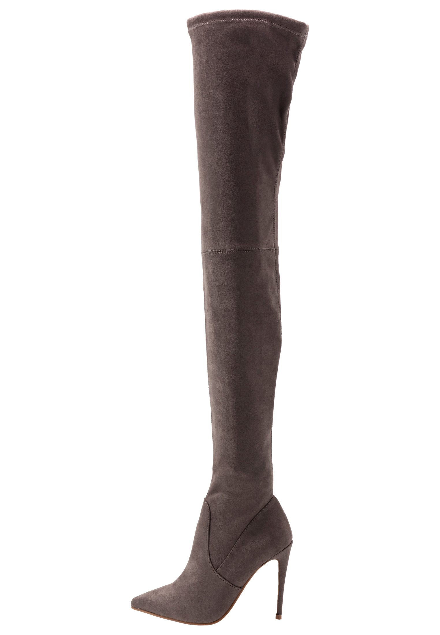 Steve Madden Dominique - High Heel Stiefel Dark Grey/grau