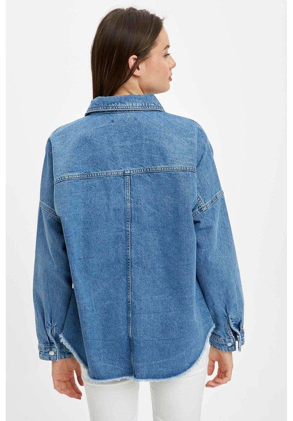 DeFacto Koszula - blue/niebieski EDRW