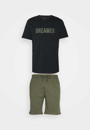 Pyžamo - black/khaki