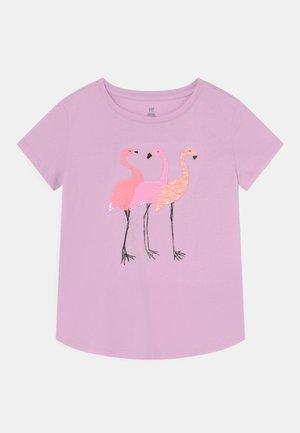 GIRLS INTERACTIVE - T-shirt con stampa - light iris