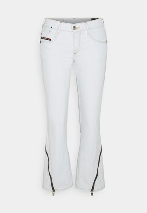 D-EBBEY - Flared Jeans - white