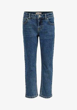 KONEMILY LIFE HW - Straight leg jeans - medium blue denim