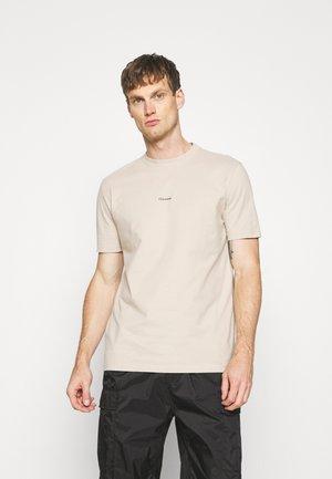 LIVE TEE - Basic T-shirt - beige