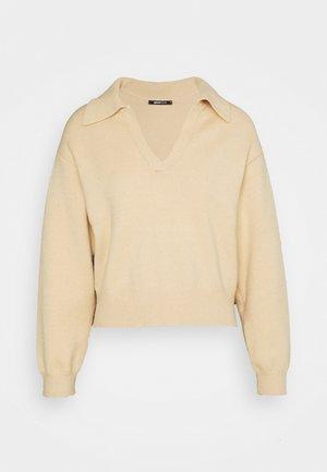 FREYA - Jumper - beige