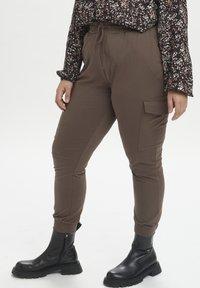 Kaffe Curve - KCSINE  - Cargo trousers - brown - 0