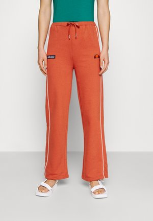 AMITI PANT - Tracksuit bottoms - dark orange