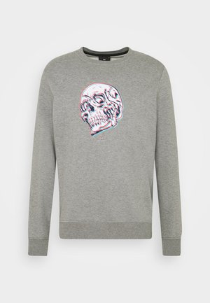 MENS REGULAR FIT SKULL - Sweatshirt - grey