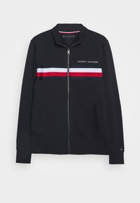 Tommy Hilfiger - LOGO ZIP THROUGH - Zip-up hoodie - blue - 3
