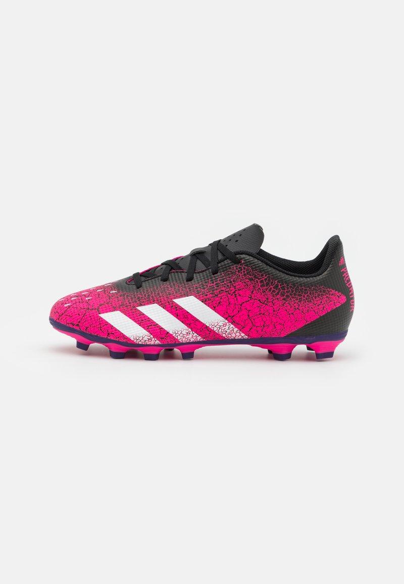 adidas Performance - PREDATOR FREAK .4 FXG - Moulded stud football boots - shock pink/footwear white/core black