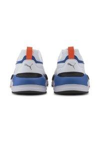 Puma - X-RAY 2 SQUARE - Trainers - white-white-black-lapis blue - 3