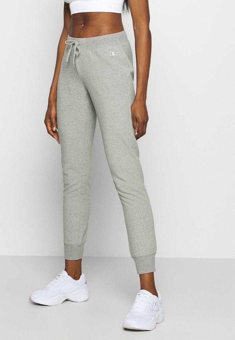Champion - CUFF PANTS - Verryttelyhousut - mottled grey