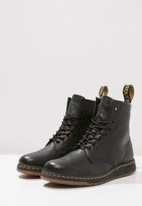 Dr. Martens - 1460 NEWTON - Lace-up ankle boots - black - 2