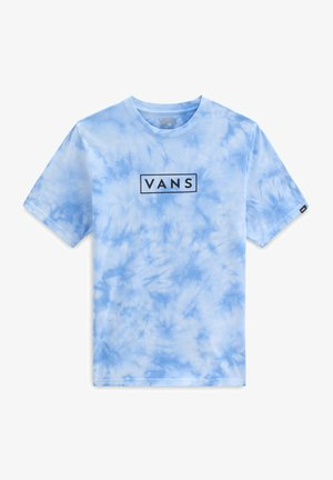 BY TIE DYE EASY BOX  - Print T-shirt - nautical blue/tie dye