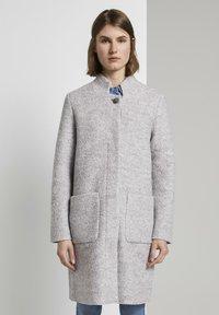 TOM TAILOR - Short coat - mid grey melange - 0