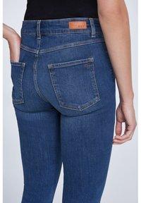 SET - Slim fit jeans - darkblue denim - 3