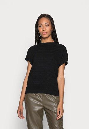 KANIYE STRUCTURE - T-shirt basic - black
