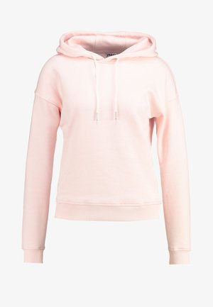 LADIES HOODY - Bluza z kapturem - pink