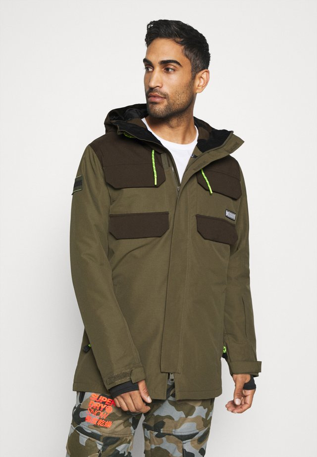 HAVEN JACKET - Giacca da snowboard - tarmac