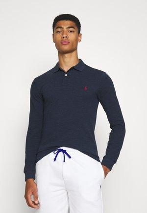 Polo shirt - medieval blue heather