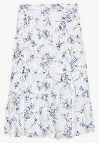 Abercrombie & Fitch - RUFFLE MIDI - A-line skirt - white - 1