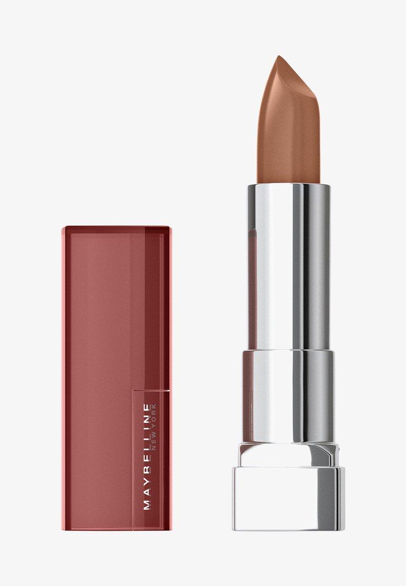 Maybelline New York - COLOR SENSATIONAL THE CREAMS - Lipstick - almond hustle