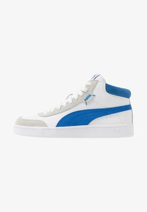 COURT LEGEND - Sneakersy wysokie - white/palace blue