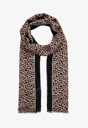 WATERDOT SCARF - Scarf - black