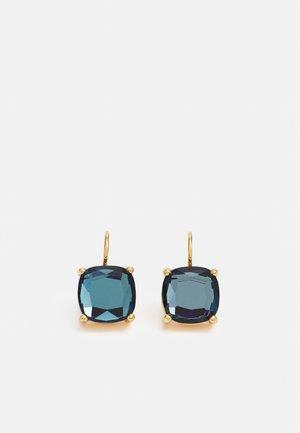 AGNETA - Earrings - gold-coloured/ blue