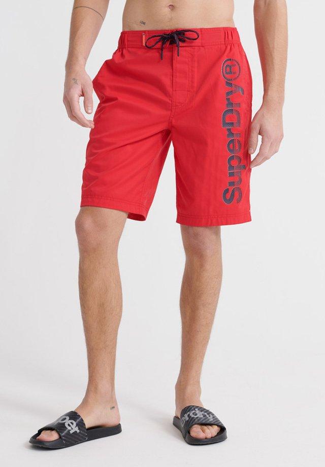 CLASSIC - Short de bain - flag red