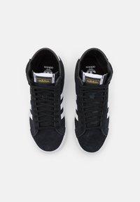 adidas Originals - BASKET PROFI UNISEX - High-top trainers - core black/footwear white/gold metallic - 3