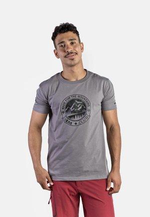 ZURICH - T-shirt imprimé - charcoal