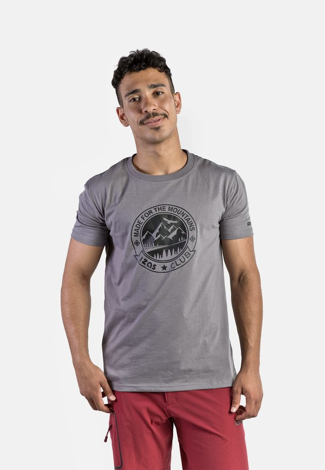 ZURICH - T-shirt con stampa - charcoal