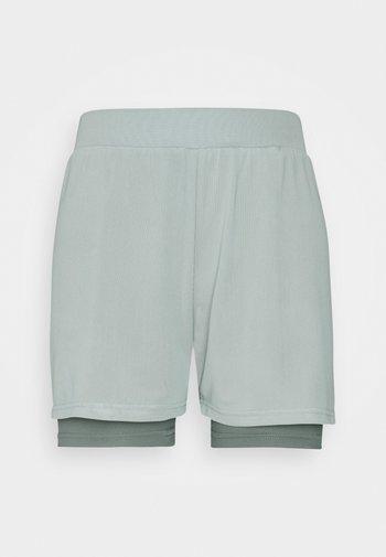 Urheilushortsit - green/blue-grey
