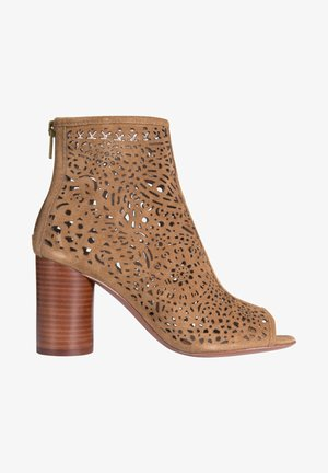FLIRT IN  - High heeled ankle boots - santal