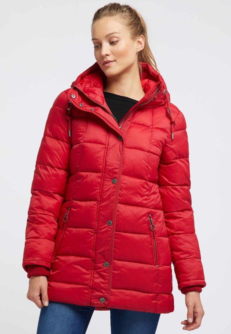 Inexpensive Women's Clothing DreiMaster Winter coat dark red XiYDuOmWc
