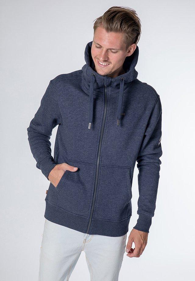 TRASHER  - Zip-up hoodie - marine