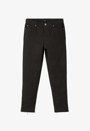HIGH WAIST  - Slim fit jeans - black denim