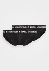 LOGO BRIEF 2 PACK - Braguitas - black