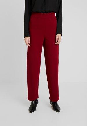 Spodnie materiałowe - biking red