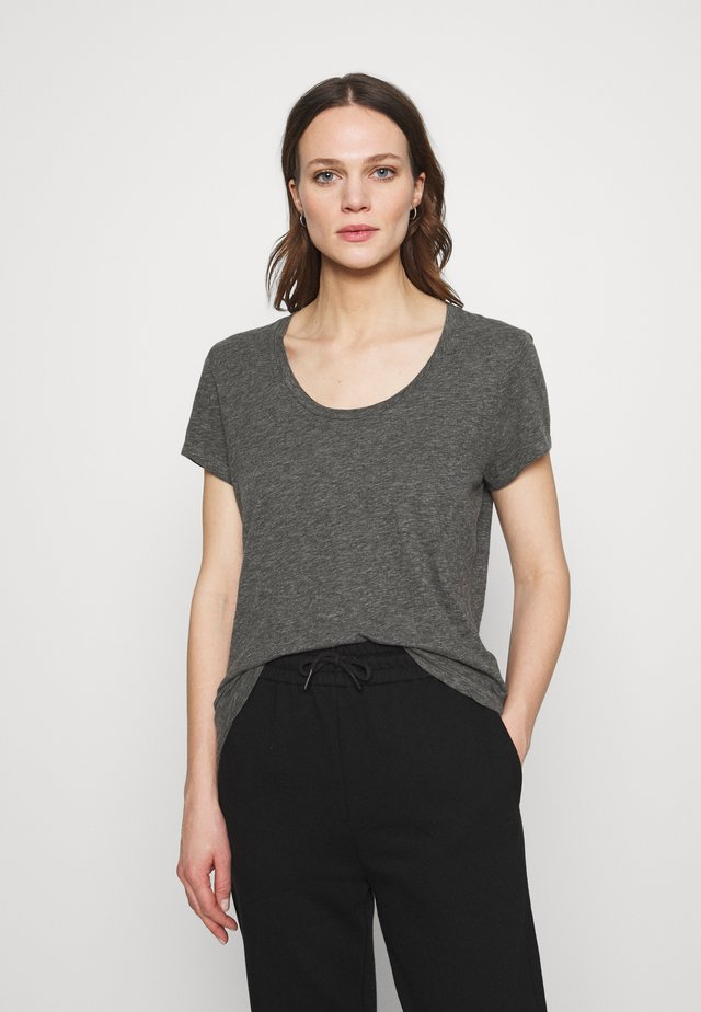 JACKSONVILLE ROUND NECK - T-shirt basique - anthracite chine