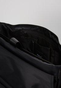 Strellson - STOCKWELL MESSENGER  - Across body bag - black - 5