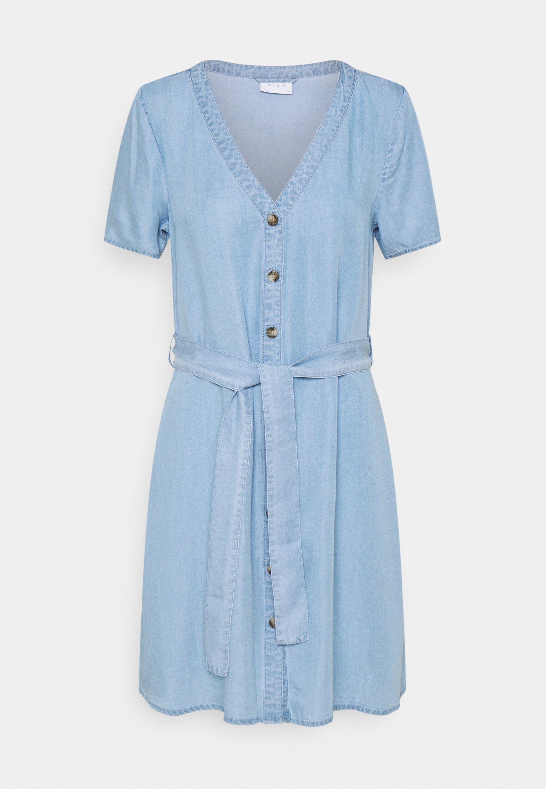 Femme VIMAHIRA GUDNY DRESS - Robe en jean
