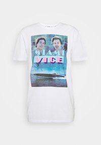 ONSMIAMIVICE SUMMER TEE - T-shirt print - bright white