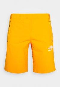 The North Face - MENS GLACIER SHORT - Pantalones montañeros cortos - flame orange - 4