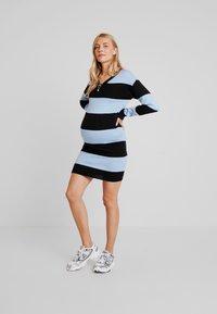 Supermom - DRESS STRIPE - Jumper dress - placid blue - 2