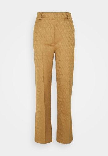 FLAW - Kalhoty - camel