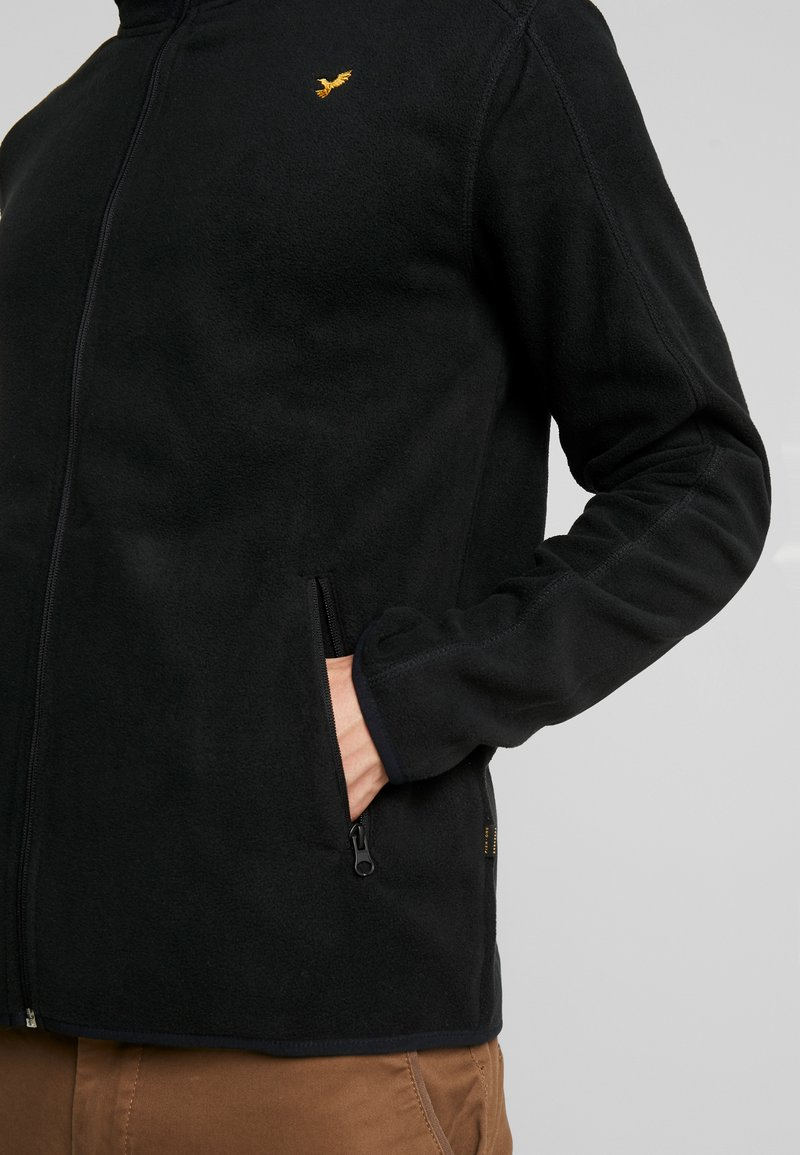 Pier One Fleecejacke - black/schwarz kx6MMS